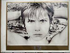 U2 War Lithograph Portrait by Ian Finlay SALE LAST COPY