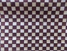 WtW Fabric Quilting Treasures Brown Check Mod Pattern Blender Anderson Quilt