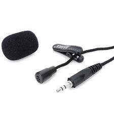 Micrófono con Clip para Solapa Corbata Cardioide para Sennheiser Inalámbrico