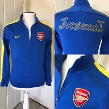 ARSENAL Jacket Top Tracksuit Football Zip Up Track 2013 14 Official Training