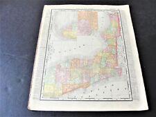 From 1895 Rand McNally Atlas of The World-Map of Southern Florida & Alabama.