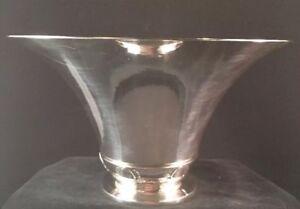 Georg Jensen Sterling Silver #700 Flaring Cactus Vase Gundorph Albertus