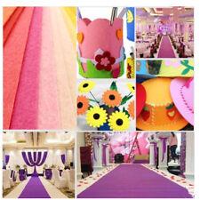 40pc 10X15cm Soft Felt Fabric Square Sheet Assorted Color for DIY Craft NICE