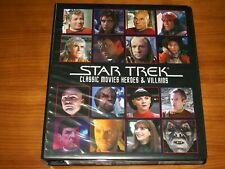 STAR TREK CLASSIC MOVIES HEROES & VILLAINS Rittenhouse Full MASTER SET Nimoy
