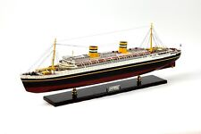 """SS Nieuw Amsterdam Holland Ship Model 36.5"""" Museum Quality Scale 1:250"""