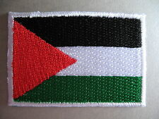 Palestinian Flag Small Iron On / Sew On Cloth Patch Badge Palestine علم فلسطين