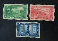 Ckstamps: Us Stamps Collection Scott#617 618 619 Mint Nh Og