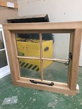Solid Oak Windows