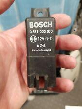 Honda Civic Accord Diesel 9-Pin Glow Plugs Relay Bosch 0281003030 cdti