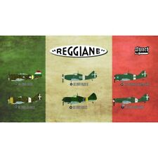 Reggiane Fighters: 6 of Falco Ariete Sagittario (1/72 model kits, Sword 72110)