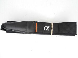 Sony Alpha Black / White Camera Neck Strap #4