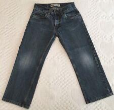 Levis 505 Boy's Straight Leg Distressed Denim Blue Jeans 26 X 26 (26 x 22) 12 R