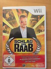 """spiel wii """"Schlag den Raab"""""""