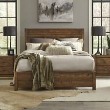 New listing Grain Wood Furniture Montauk Solid Wood King Panel Bed