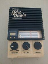 Vintage Pollenex Splash Dance 11 Shower Radio,