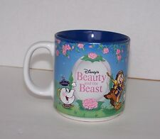 Disney's Beauty And The Beast Coffee Mug Made in Japan Walt Disney Co Castle
