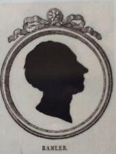 Hoffmann. - sombras grietas seis berlinscher eruditos. cortado V. Unger 1779