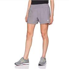 "$45 NEW Nike Flex Eclipse Women's 5"" Running Shorts Pro Grey AH4051 Size Medium"