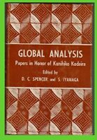 GLOBAL ANALYSIS paper in honor of KODAIRA spencer-iyanaga GZL HARDCOVER book