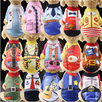 Small Dog Puppy Cat Puppy Warm Clothes Vest Coat Apparel Sweater Jacket Costume