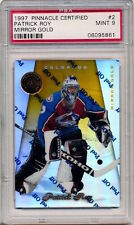 1997-98 Pinnacle Certified PATRICK ROY MIRROR GOLD (HOF) Avalanche MINT PSA 9