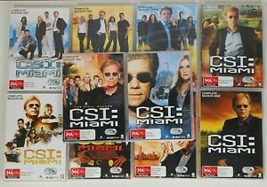 CSI: Miami: The Complete Series Seasons 1 2 3 4 5 6 7 8 9 & 10. DVD Region 4 AUS