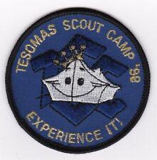 CAMP PATCH - CAMP TESOMAS - SAMOSET COUNCIL - 1998