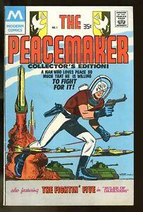 PEACEMAKER #1 VERY GOOD 4.0 1978 MODERN COMICS