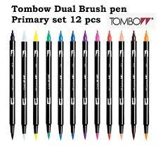 Tombow Dual Brush Pen set: Primary colour set 12 pcs