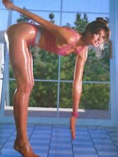 Carol Alt - Sexy Pin-up Poster #3168 - Workout / Exc. New cond. - 22 x 34 1/2""