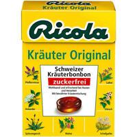 Ricola Kräuter Original ohne Zucker 20x50 g Bx.