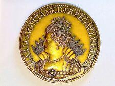 Médaille Henri IV / du sacre de Marie de Médicis le 13 mai 1610 -  (RARE) SPL++