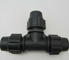 PE Quick Connect Union Tee Connector Adapter  PE Pipe Fittings Tee 20MM