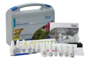 Oase AquaActiv 50571 Wasser Analyse Testset Pflegemittel Profi-Tropflösungen
