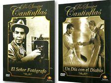 2 DVD PACK-SENOR FOTOGRAFO & UN DIA CON EL DIABLO*CANTINFLAS* NEW DVD'S REG.1&4