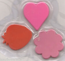 Pretty 3 Needle Threaders, Flower Strawberry Heart, Gift for Quilters! Singer