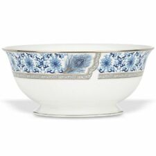 Marchesa Couture Sapphire Plume Serving Bowl by Lenox ~ New with Tags