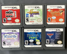 Nintendo DS Disney Games Hannah Montana Cars Tinkerbell Wizards (6 Game Lot)