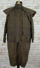 KANGA KHAKI'S Brown Countrywear Stockman Riding Coat size 3-XS