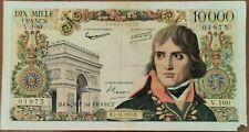 Billet de 10000 francs BONAPARTE 7 - 11 - 1957 FRANCE V.100 (cf photos)