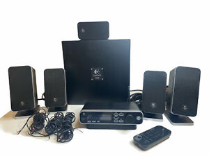 Logitech Z-5450 Digital 5.1 Surround Sound System With Logitech Remote TESTED