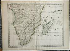 CARTE DU CONGO ET DU PAYS DES CAFRES DE LISLE 1708. PRICE REDUCED FREE SHIPPING