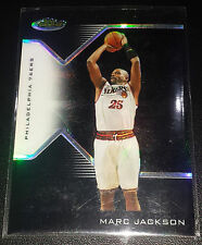 Marc Jackson 2004-05 Topps Finest BLACK REFRACTOR Parallel Insert Card (# 28/29)