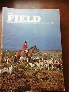 The Field Magazine. 5th Nov, 1970