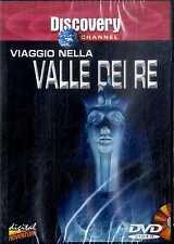 VIAGGIO NELLA VALLE DEI RE DVD Discovery Channel Documentario SEALED