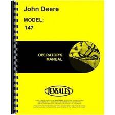 John Deere 147 Cc Cultivator Van Brunt Field Amp Orchard Operators Manual Omm41056