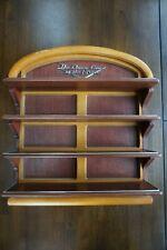 Vtg Franklin Mint Classic Cars of the Fifties Wood Shelf Display Rack