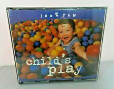 Child's Play - 100% Fun 2 CD Set Emi Music 2002 Songs Various Artists Chipmunks