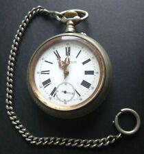 Ancien régulateur grosse montre gousset clock