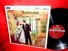 MANTOVANI Waltz Encores LP 1958 AUSTRALIA EX+